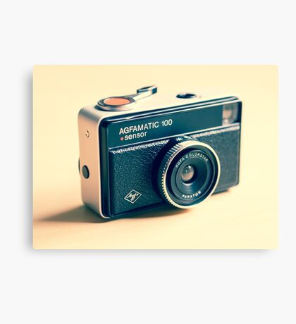 Agfamatic 100 - Old camera Canvas Print