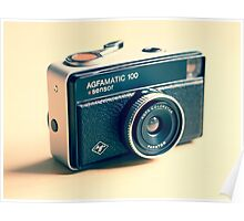 Agfamatic 100 - Old camera Poster