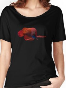 Red Arowana Women's Relaxed Fit T-Shirt