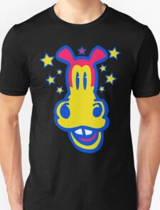 Smiling Cartoon Horse by Cheerful Madness  T-Shirt