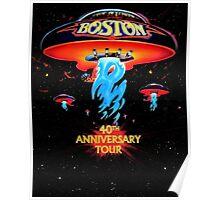 Boston 40th Anniversary Poster