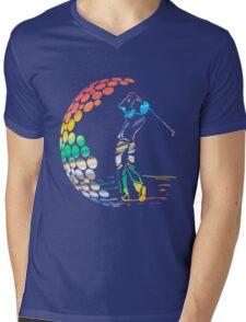 golf Mens V-Neck T-Shirt