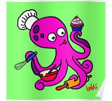 Baker Octopus  Poster