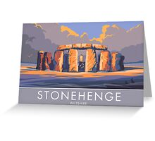 Stonehenge, Wiltshire Greeting Card