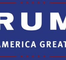 Donald Trump Sticker Sticker