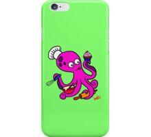 Baker Octopus  iPhone Case/Skin