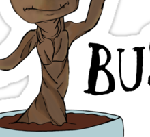 Bust a Move Baby Groot Sticker