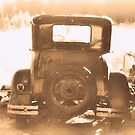 """Tin Lizzie... Rear View""... prints and products by © Bob Hall"