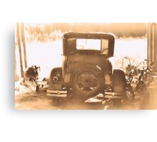 """""""Tin Lizzie... Rear View""""... prints and products Canvas Print"""