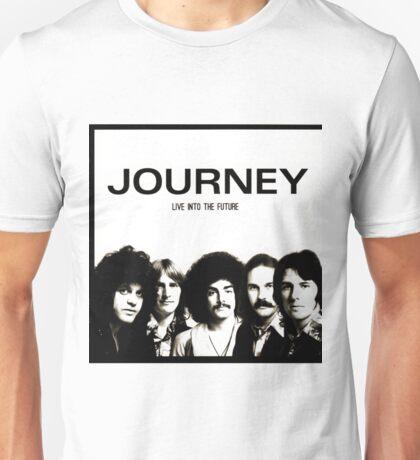 Vintage Journey Live Into The Future Unisex T-Shirt