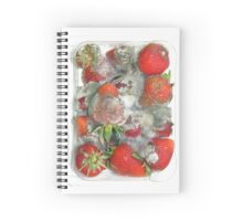 Molded berries Spiral Notebook