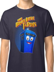 Brave Little Tardis Classic T-Shirt