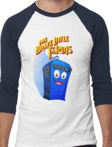 Brave Little Tardis Men's Baseball ¾ T-Shirt