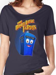 Brave Little Tardis Women's Relaxed Fit T-Shirt
