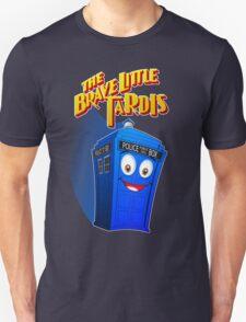 Brave Little Tardis Unisex T-Shirt