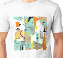 Mid-Century Modern Abstract Art Unisex T-Shirt