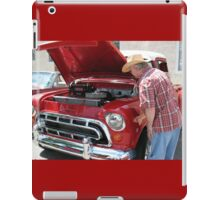 Checking Out This Baby......1951Chevy Truck iPad Case/Skin