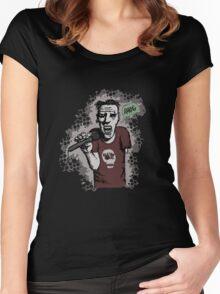 Zombi-oke Women's Fitted Scoop T-Shirt