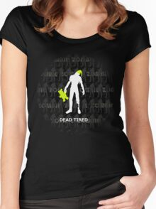 Dead Tired Women's Fitted Scoop T-Shirt