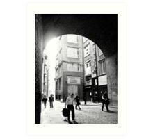London alley Art Print