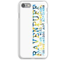 Ravenpuff Quote NEW iPhone Case/Skin