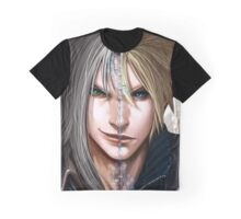 Double Face Graphic T-Shirt