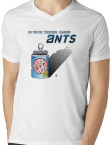 So You're Thinking Canned Ants? Mens V-Neck T-Shirt