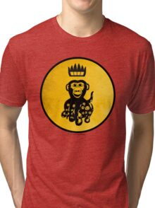 King Octochimp Says Hi Tri-blend T-Shirt