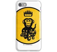 King Octochimp Says Hi iPhone Case/Skin