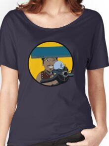 Z-140 (Alleviated titanium. Neurocharged assault model) Women's Relaxed Fit T-Shirt