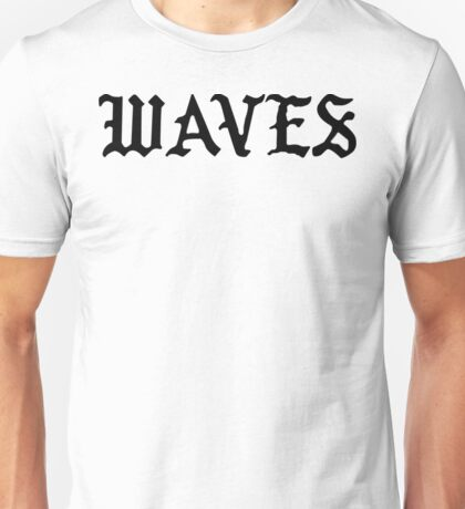 Waves - The Life of Pablo Unisex T-Shirt
