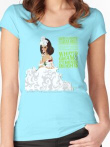 WHIPPED CREAM & OTHER DELIGHTS Women's Fitted Scoop T-Shirt