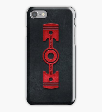 Boxer Engine case (3) iPhone Case/Skin