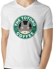 The Anime Coffee Mens V-Neck T-Shirt