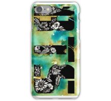 BTS - Floral Art Print iPhone Case/Skin