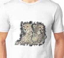 Loving Cheetahs Unisex T-Shirt