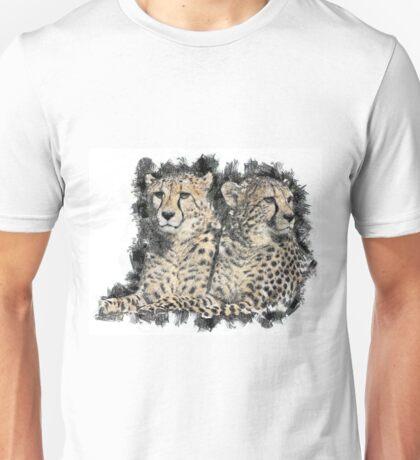 Loving Cheetahs Unisex T-Shirt