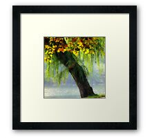 autumn tree special Framed Print