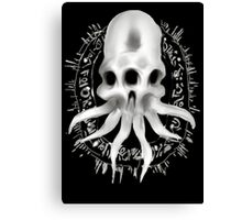 Alien Skull B Canvas Print