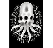 Alien Skull Photographic Print