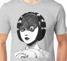 Woman With Special Eyeball Unisex T-Shirt