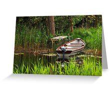 Fishing Boat Greeting Card