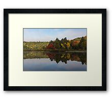 Autumn Mirror -  Framed Print