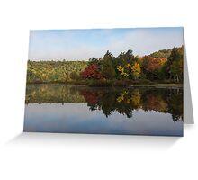 Autumn Mirror -  Greeting Card