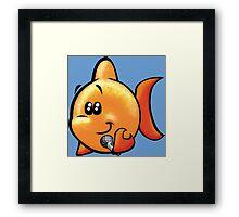 HeinyR- Fishy Framed Print