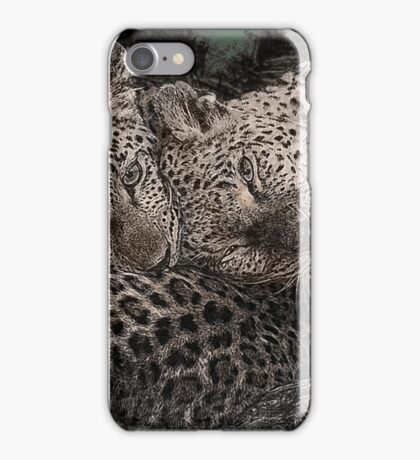 Leopards at Play iPhone Case/Skin