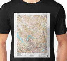 USGS TOPO Map California CA Briones Valley 100398 1995 24000 geo Unisex T-Shirt