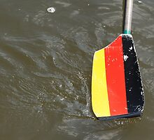 German rowing oar by stuwdamdorp
