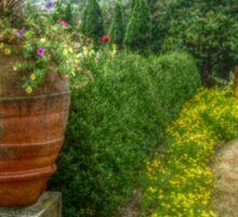 Antique Garden Urn, New Jersey Botanical Gardens Sticker