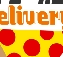I Could Really Go for Some Mini Pizzas Right Now... Sticker